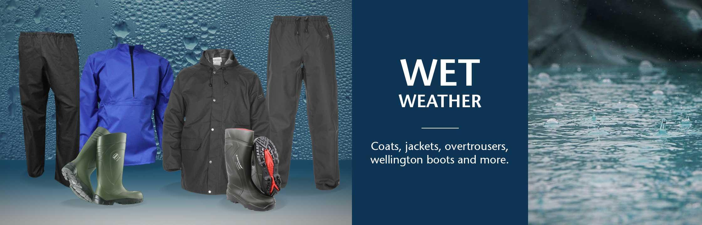 Wet Weather Essentials