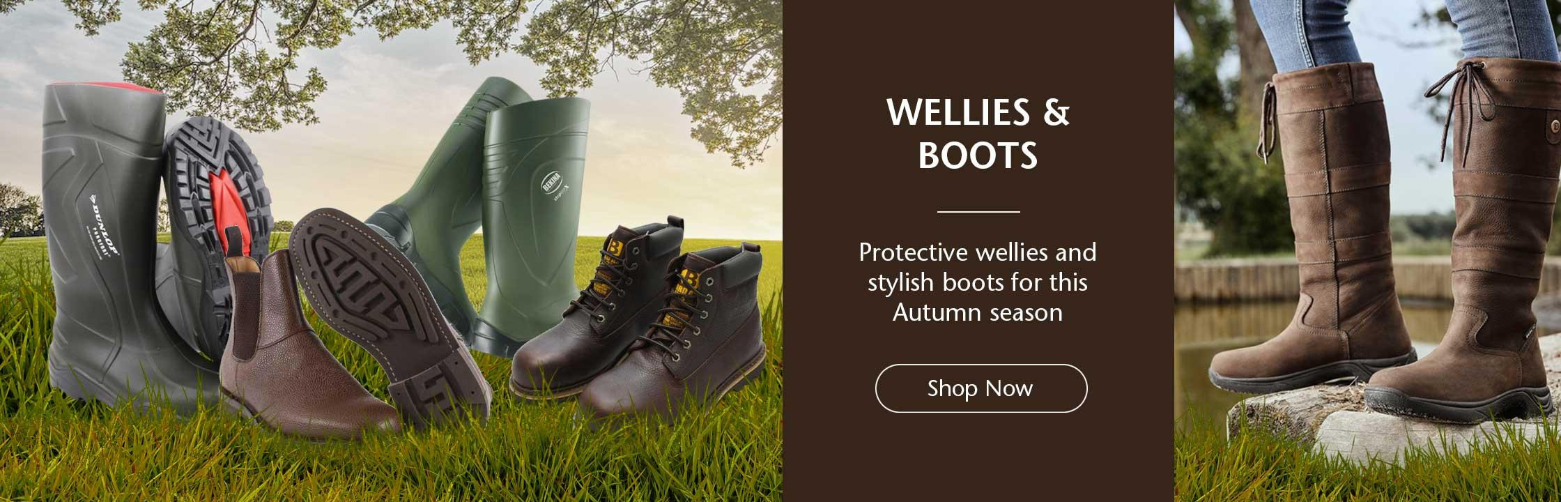 Wellingtons & Boots