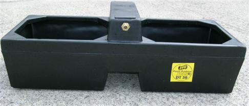 JFC Plastic 30 Gallon Double Water Drinking Trough  image