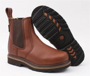 Buckler Gold Brown Dealer Non Safety Boot  image