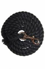 Black Cotton Lead Rope  image