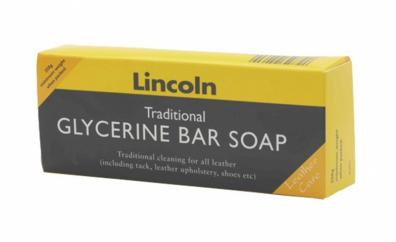Lincoln Traditional Glycerine Saddle Soap 250g Bar image