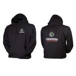Grassmen Adults Black Hoodie  image
