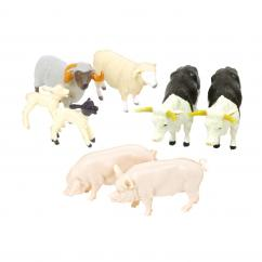 Britains 43096A2 Mixed Animal Value Pack (17pc) image
