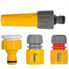 Hozelock Hose Nozzle & Fittings Set  image