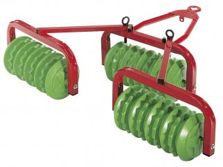 Rolly 12384 Disc Harrow Red and Green image