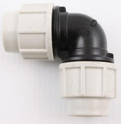 Plasson 7050 Plastic 32mm Elbow image