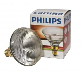 Philips Infrared 250W Clear ES Screw Fit Heat Lamp Bulb image