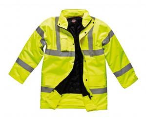 Hi Vis Motorway Jacket in Yellow image