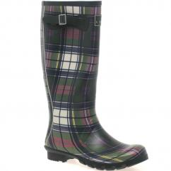 Lunar Ladies Tartan Leisure Wellingtons  image