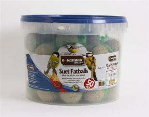 Heatherlea Fat Balls Bucket 50 image