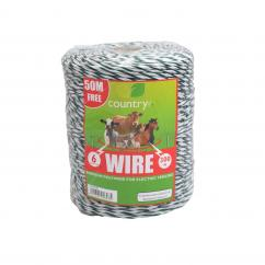 Country 6 Strand Supercharge Electric Fence Poly Wire  image