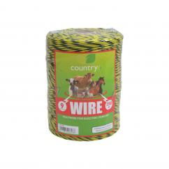 Country 9 Strand Electric Fence Poly Wire  image