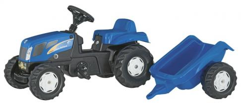 Rolly 01307 Kid New Holland Tractor and Trailer image