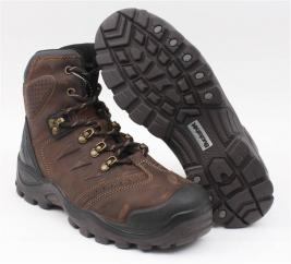 Buckler Buckshot Safety Lace Up Boot in Brown  image