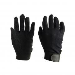 Dublin Track Riding Gloves Black Adult  image