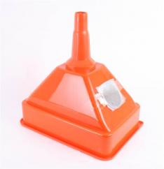 Sparex S.6390 Plastic Square Funnel with Filter image