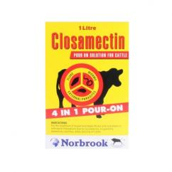 Closamectin Pour On 1L image