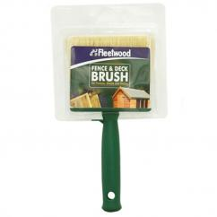 Fence & Deck Creosote Paint Brush 4in image