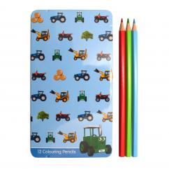 Tractor Ted Pencil Tin image