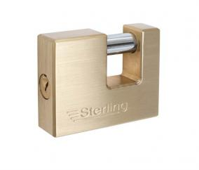 Sterling Shutter Straight Shackle Padlock  image