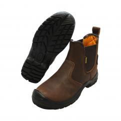 Bodytech Arizona Safety Dealer Boot Brown  image