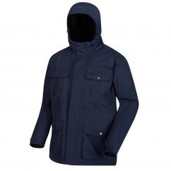 Regatta RMP264 Phyllon Mens Waterproof Jacket Navy  image