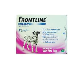 Frontline Spot On for Large Dogs (20-40kg) image