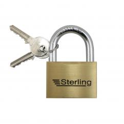 Sterling 60mm Premium Brass Padlock Keyed Alike image