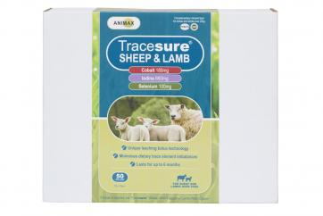 Animax Tracesure 3in1 Sheep Bolus 50 Pack image
