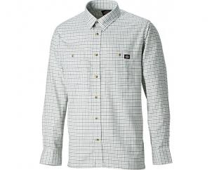 Dickies Tattersall Check Shirt Blue/Grey  image