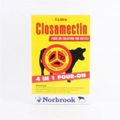 Closamectin Pour On 1L      **Meat withdrawal now 58 days** image