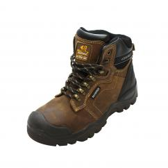 Buckler BSH009BR Full Safety Brown Boot  image