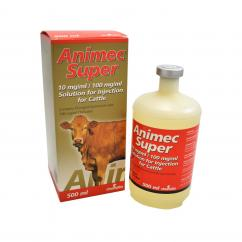 Animec Super Injection Solution for Cattle  image