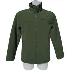 Regatta Castiel Mens Dark Khaki Softshell Jacket  image