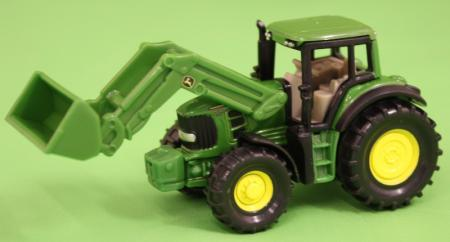 Siku John Deere Tractor with Front Loader  image