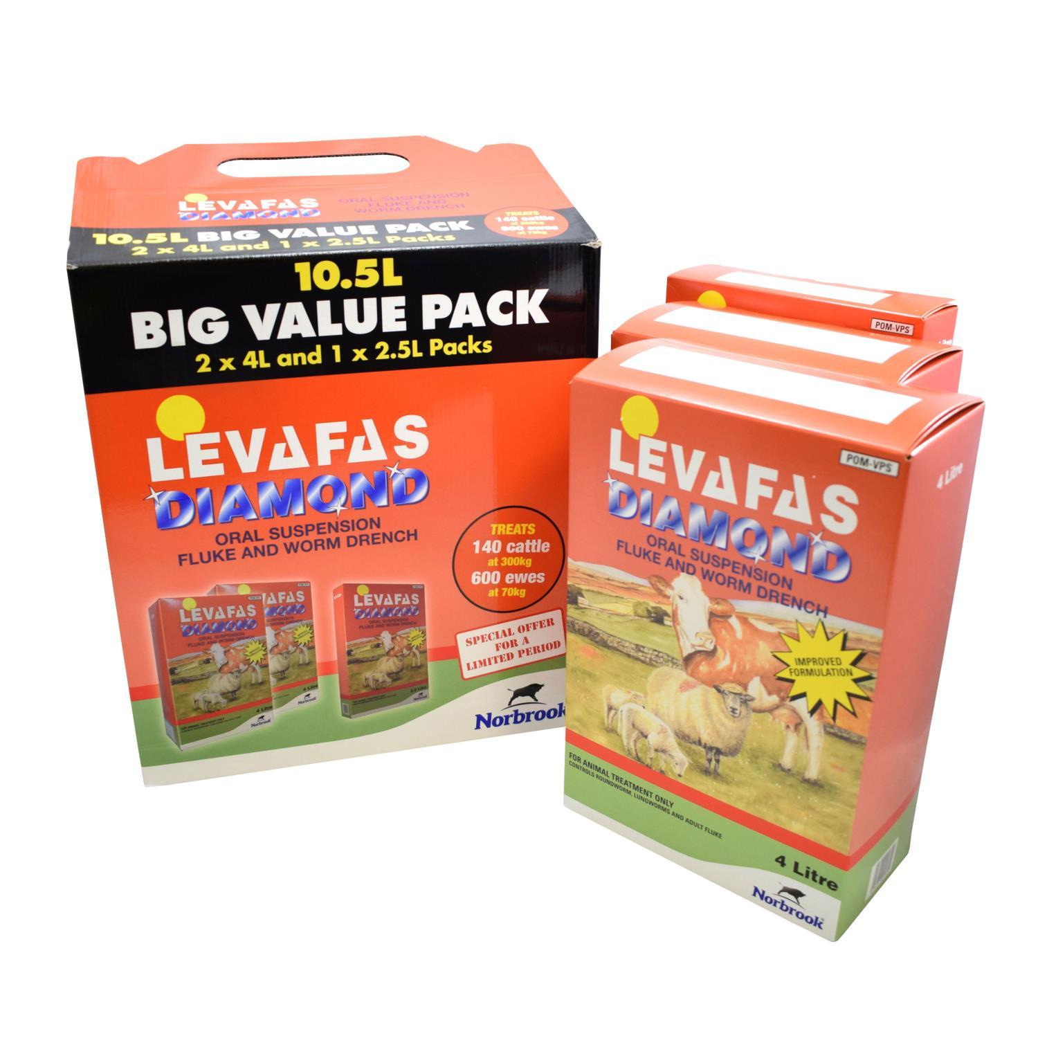 Buy Levafas Diamond 10 5l Promo Pack From Fane Valley