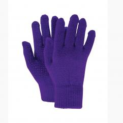 Dublin Magic Pimple Grip Riding Gloves Purple  image