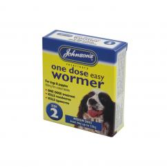 Johnsons One Dose Easy Wormer Size 2  image