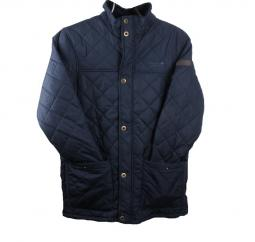 Regatta Mens Rigby Quilted Jacket in Navy  image