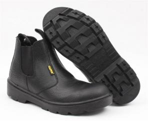 CAPPS Delta Plus Gusset Safety Boot in Black  image