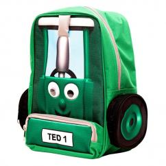 Tractor Ted Green Backpack image