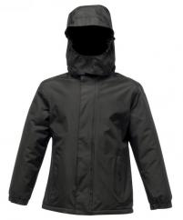 Regatta Kids Squad Jacket in Black  image
