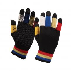 Dublin Magic Pimple Grip Riding Gloves Child Black Multi  image