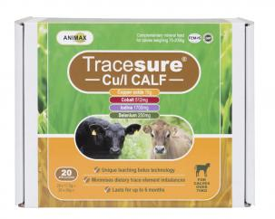 Animax Tracesure CU/I Bolus for Calves  image