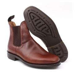 Joseph Cheaney Super Hampton Dressed Dealer Boot in Brown  image