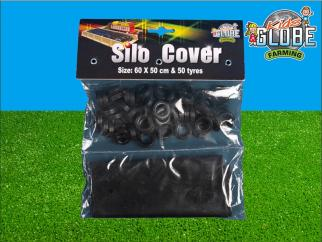 Globe Silo Cover with 50 Tyres image