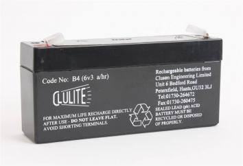 Clulite Rechargeable Battery  image