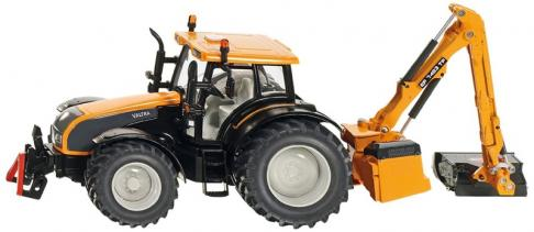 Siku Valtra Tractor with Kuhn EP 7483 TP Hedge Cutter image
