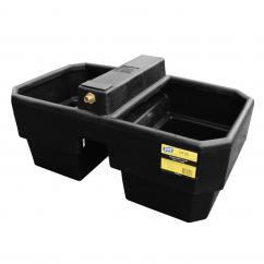 JFC Plastic 20 Gallon Double Water Drinking Trough  image